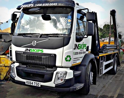 skip hire services london