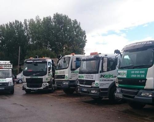 Skip Hire Trucks